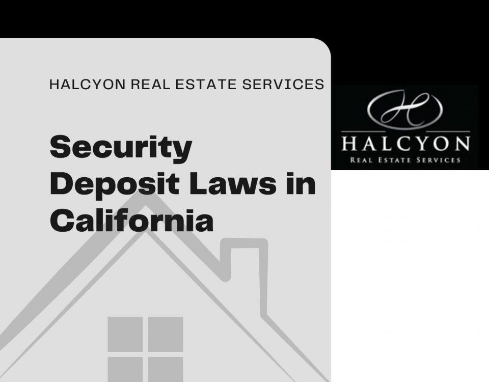 security deposit laws in california